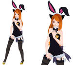 MMD-Kitty Gemma-Bunny Outfit [Dl in Desc]