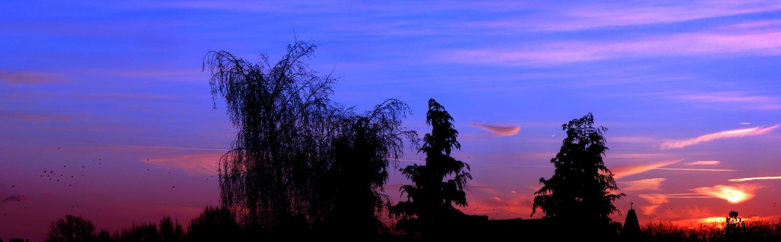 13th Jannuary sky 2013 by Xaeyu
