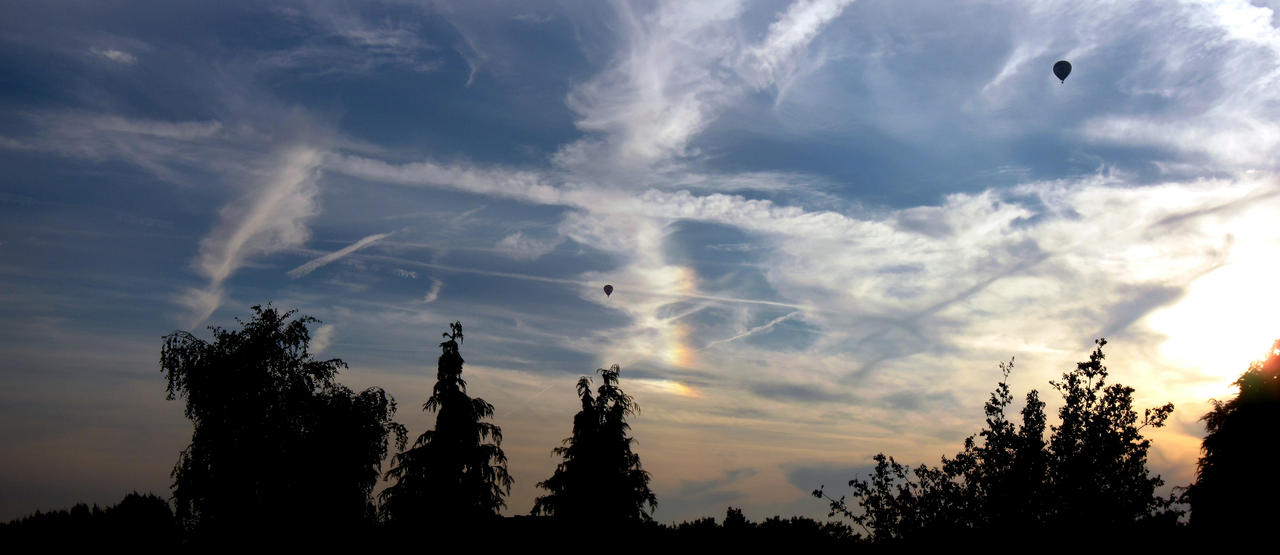 28th September 2014 Sky - Sundog by Xaeyu