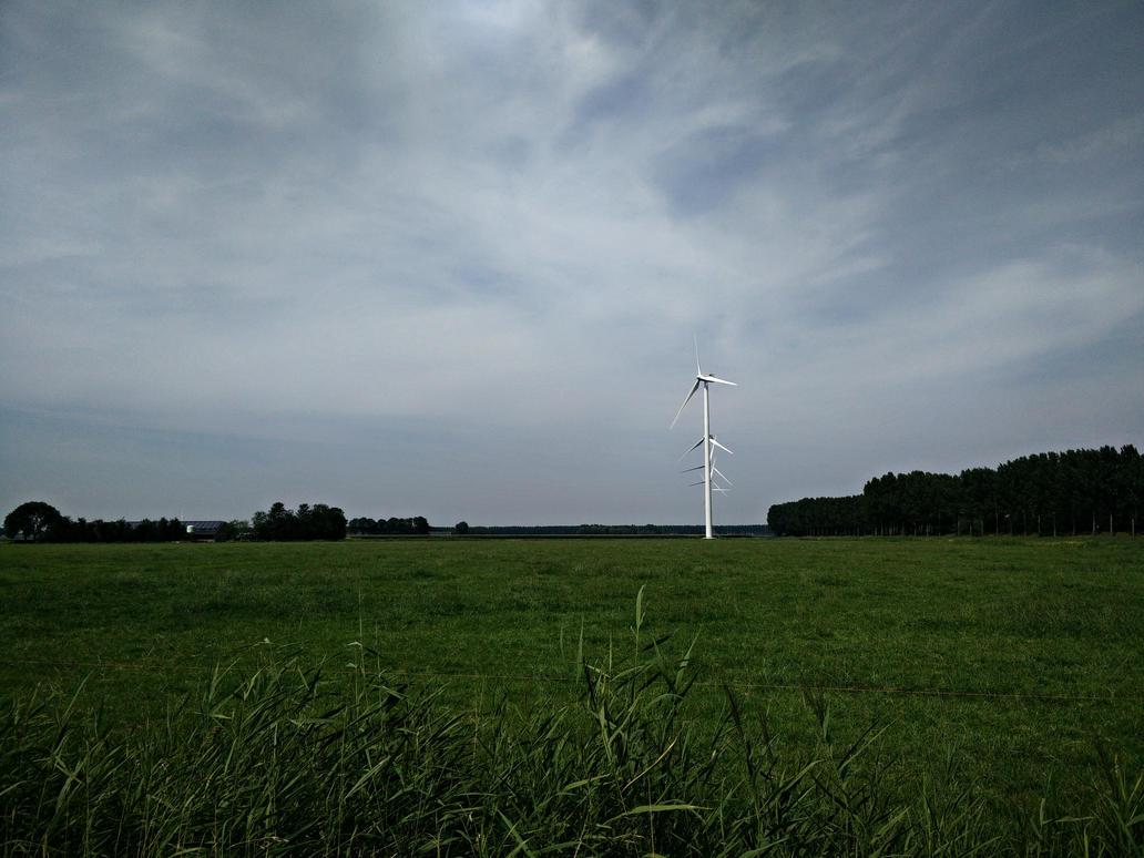 Windmills by Xaeyu