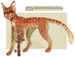 Warrior Cat Adoptable 3 (Auction / PTA) - CLOSED by SkaySaky