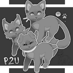 KITTY Lineart / Base - p2u