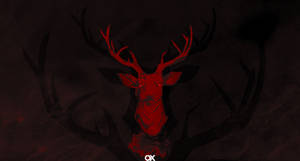 Stag Wallpaper by firstQuxera