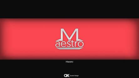 Maestro Logo by firstQuxera