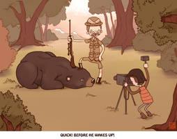 Bear hunt 2 by Sheharzad-Arshad
