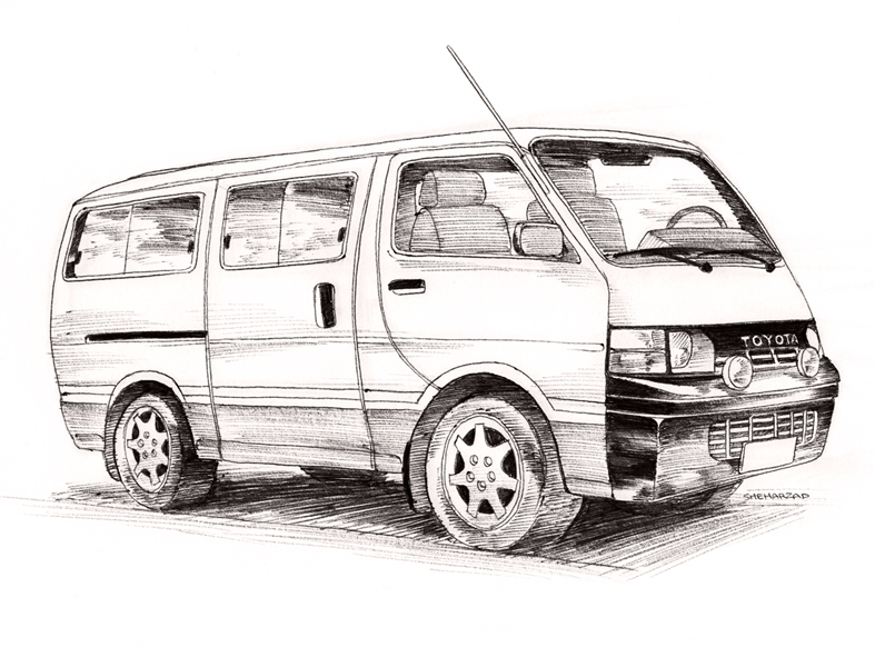 Toyota Hiace by Sheharzad-Arshad