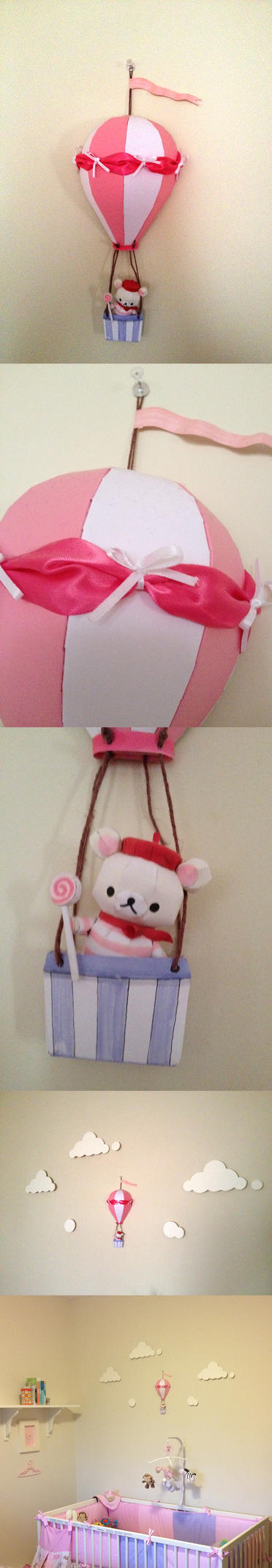 Hot air balloon papercraft by Sheharzad-Arshad