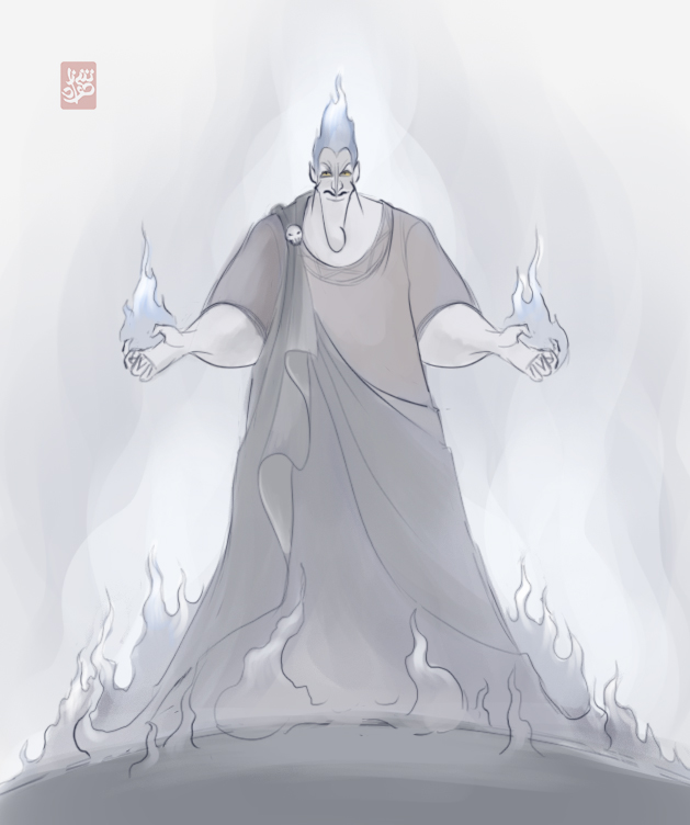 Hades rough sketch by Sheharzad-Arshad