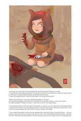 Little Red Riding Hood - 3 by Sheharzad-Arshad