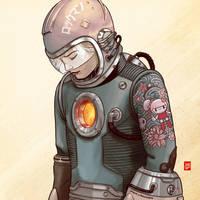 Megaman by Sheharzad-Arshad
