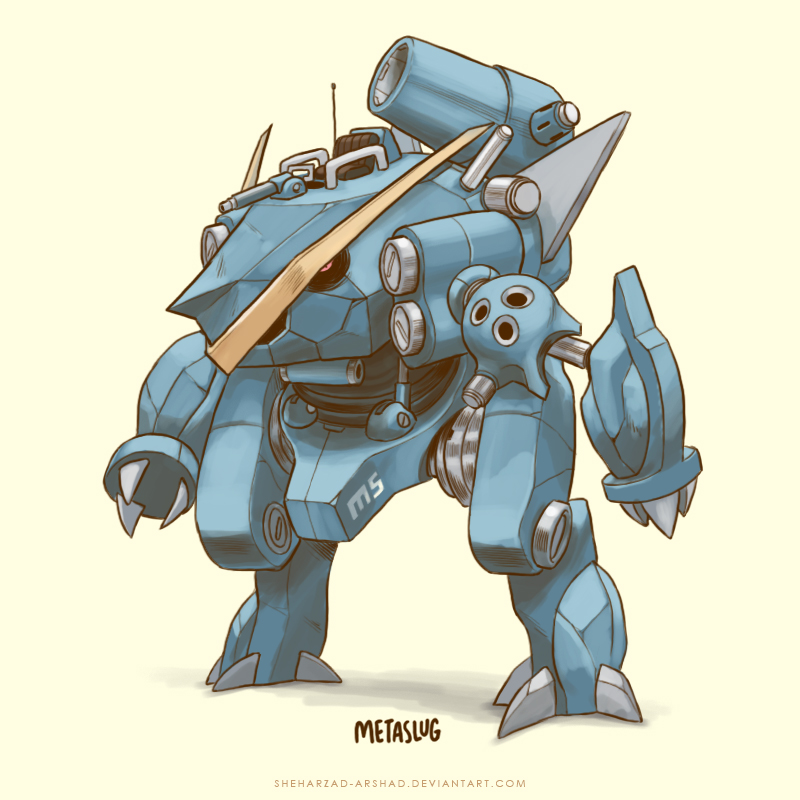 Metagross Super Evolve by Sheharzad-Arshad on DeviantArt