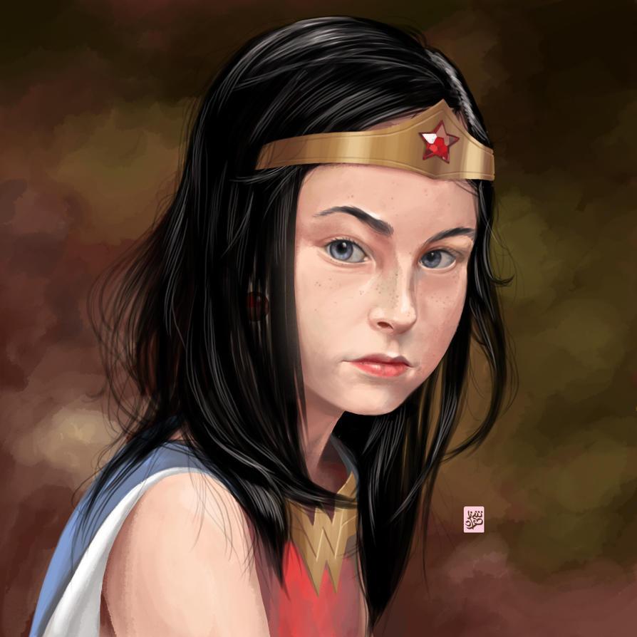 WonderWoman by Sheharzad-Arshad