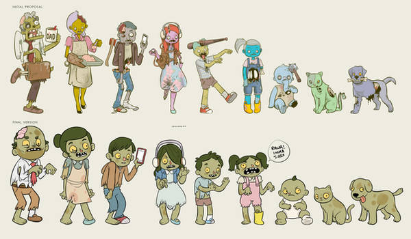 Zombie decals final version