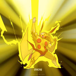 Pikachu Super Evolve by Sheharzad-Arshad