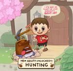 Animal crossing hunter