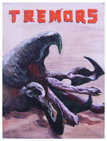 Tremors - 11x14inch - Acrylics