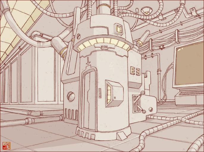 Mad Scientist Lab by Sheharzad-Arshad