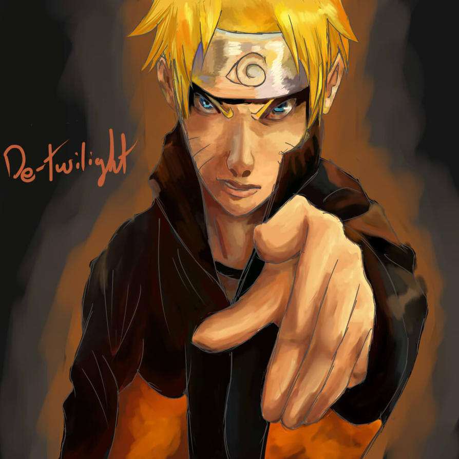 Naruto Uzumaki by de-twilight