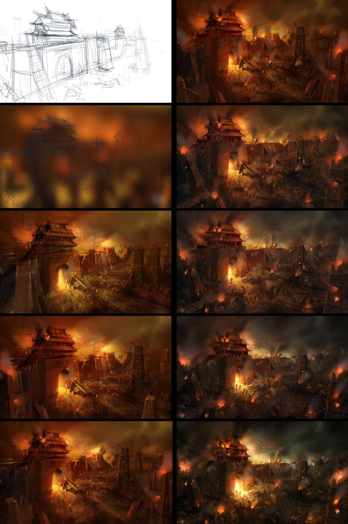 Siege warfare-1 by wanbao