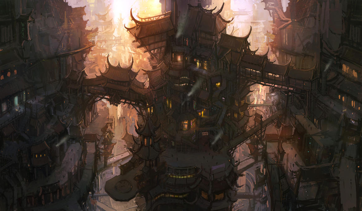 old city by wanbao