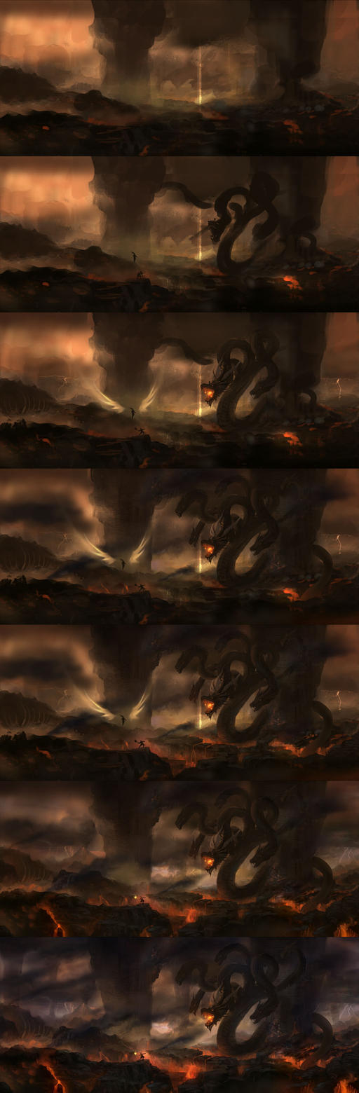 9-headed dragon-1 by wanbao
