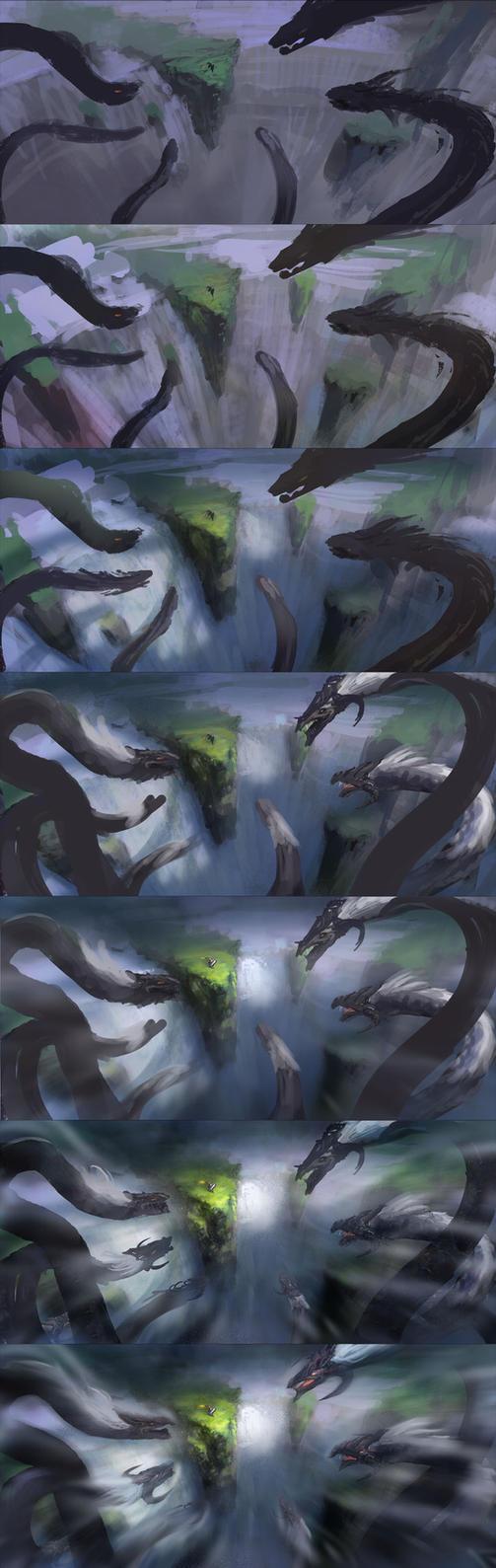 9-head dragon2-1 by wanbao