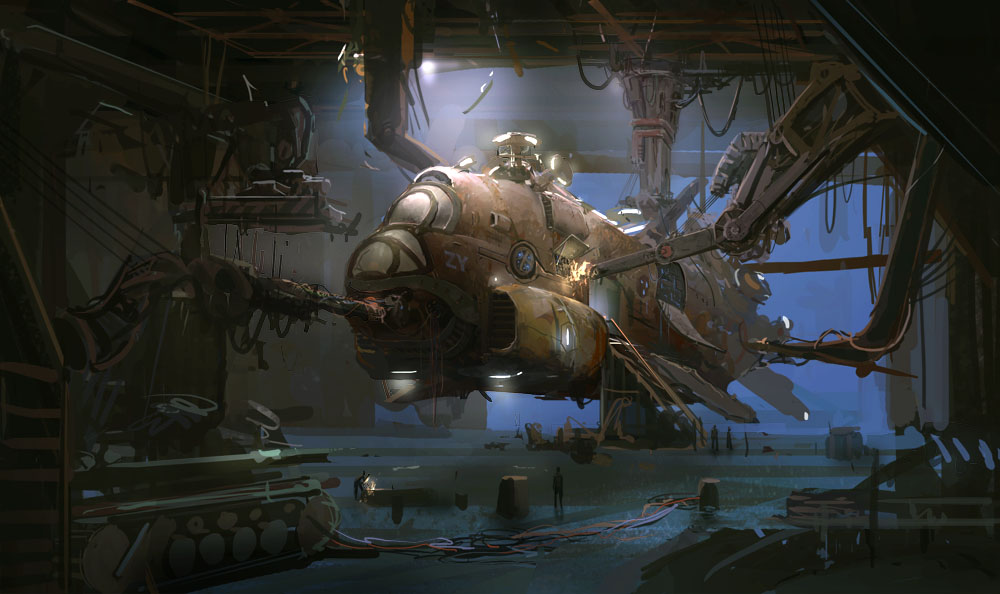 Images Dieselpunk Pulp Imagery