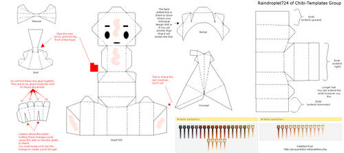 Papercraft Template by Raindroplet724