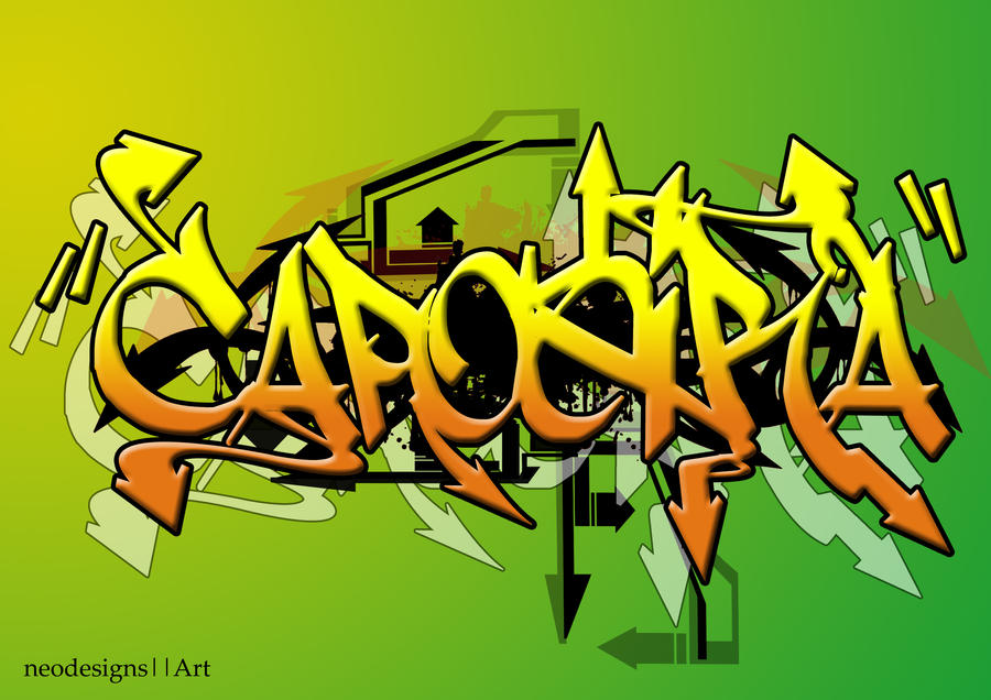 Capoeira Graffiti Style By Zaroen02 On DeviantArt