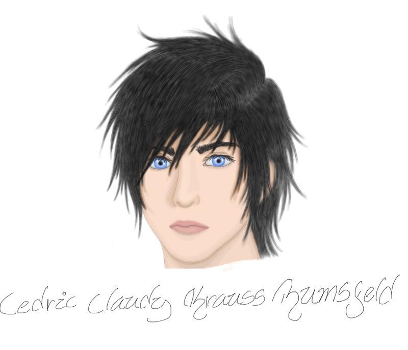 Cedric Krauss - First Sketch by Yuna-ffx2