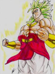 Broly Super Sayan Legendary by Husky112