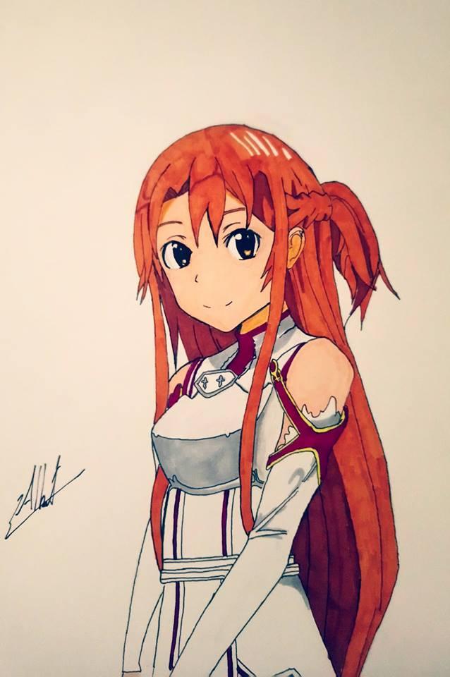 Asuna Swort Art Online by Husky112