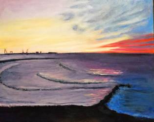 Beach landscape by Husky112