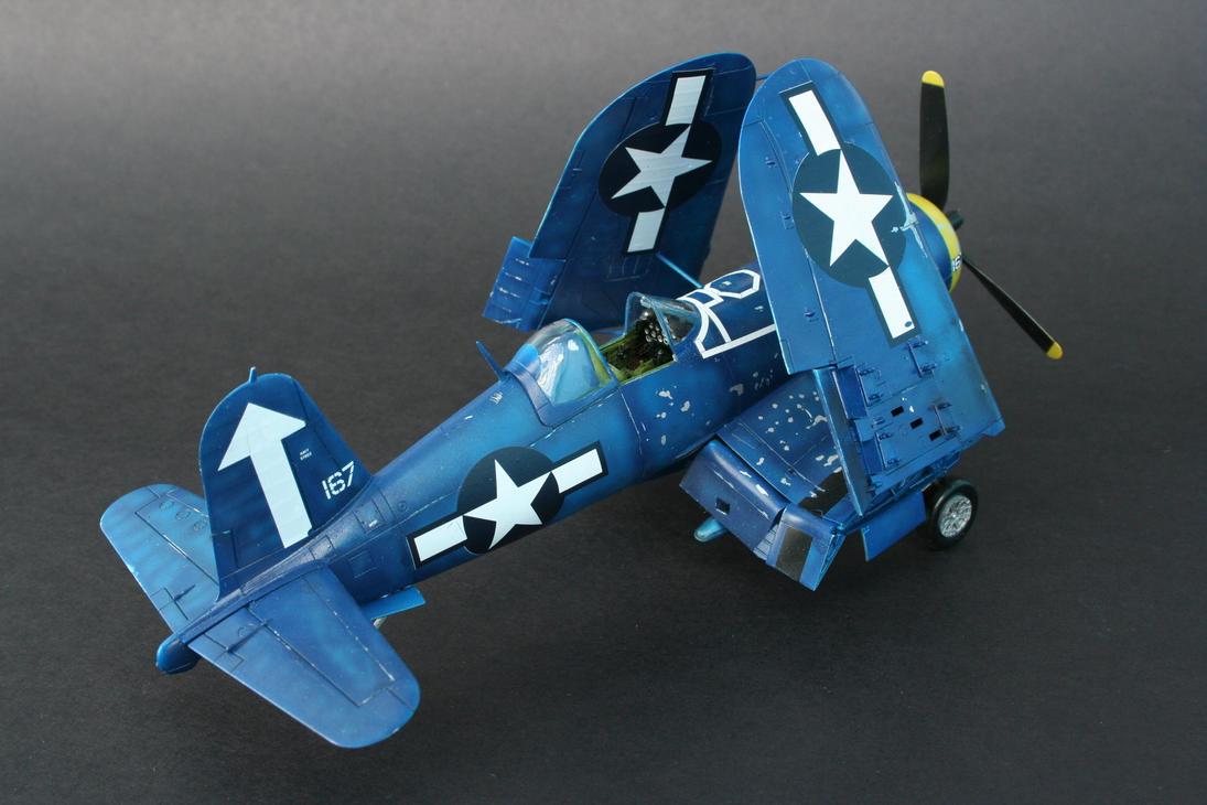 F4U-1D Corsair by shonenred