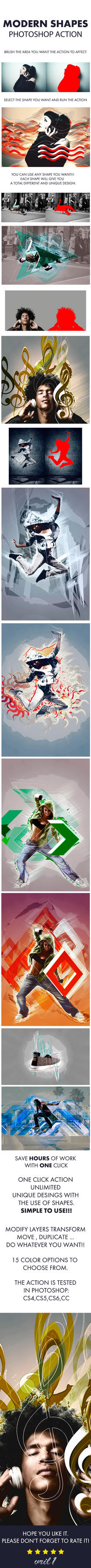 Modern shapes photoshop action by vril1