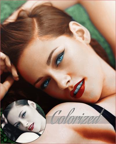 Colorized Kristen Stew. by MyVampireWorld