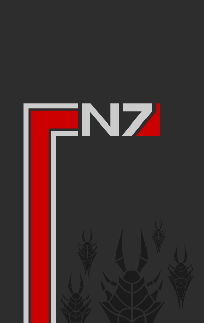 Mass Effect poster by adrius15
