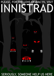 Innistrad Travel Poster by adrius15