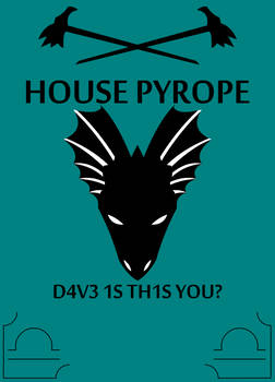 House Pyrope sigil by adrius15