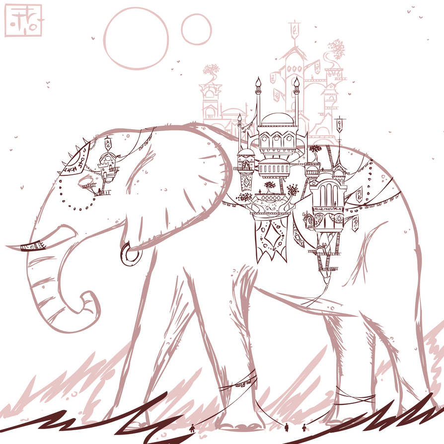 Elephantine Ecumenopolis by adrius15