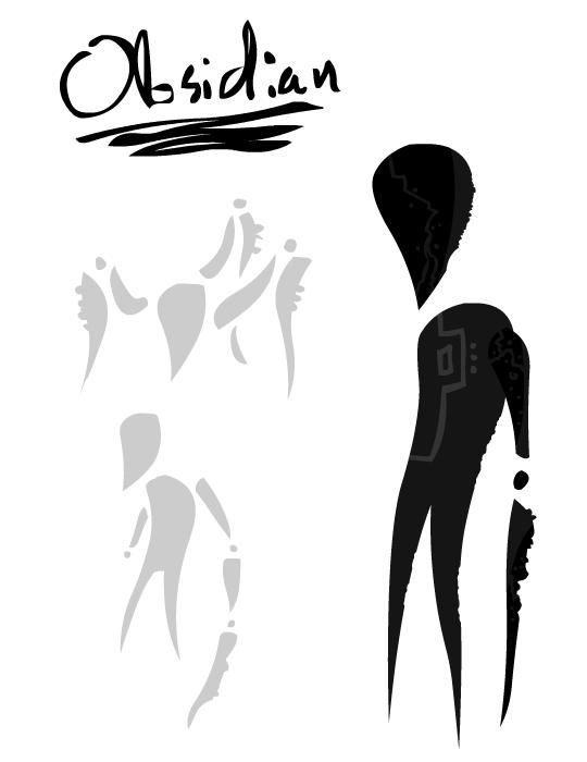 Obsidian Gem by adrius15