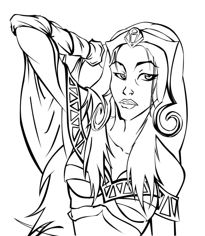 WIP: Liliana by Android-Kitten