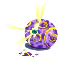egg eye by dragynsart