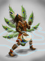 CHoW# 382 African God of Thunder and Dance
