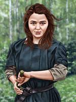 Arya by dragynsart