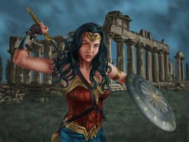 Wonder Woman by dragynsart