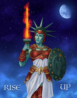 Lady Liberty by dragynsart