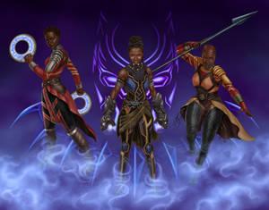 Black Panther Queens