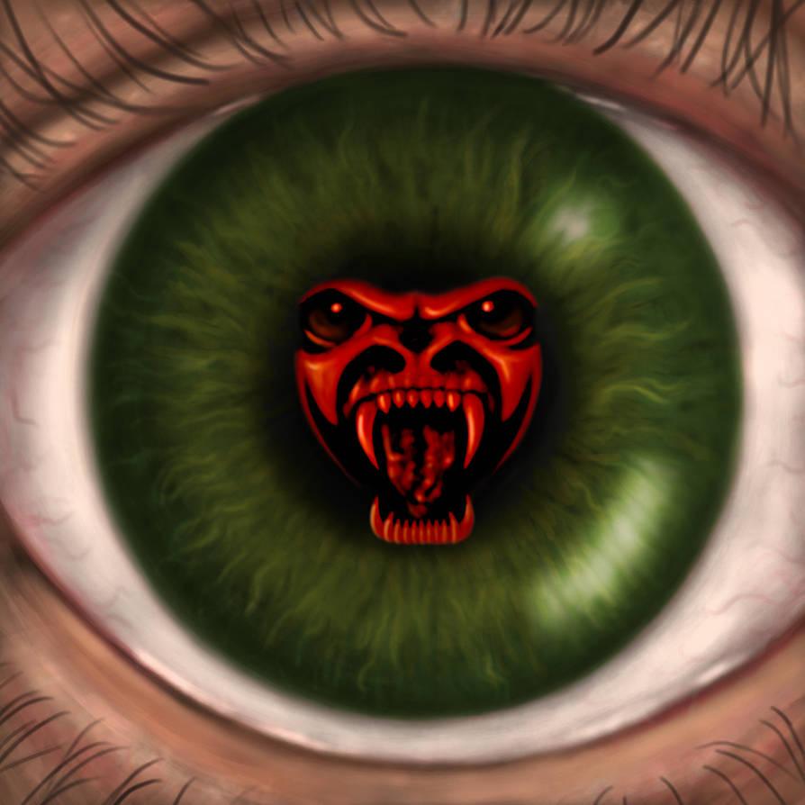 Devils Eye by dragynsart