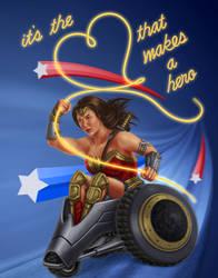 Wonder Woman Heart